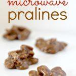 Easy Microwave Praline Recipe   Praline recipe, Microwave pralines recipe,  Recipes