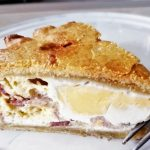 Bacon and Egg Pie - made the old fashioned way - Foodle Club