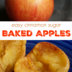 Easy Microwave Baked Apples Recipe