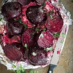 Baked Beets with Butter and Oregano - Foodness Gracious