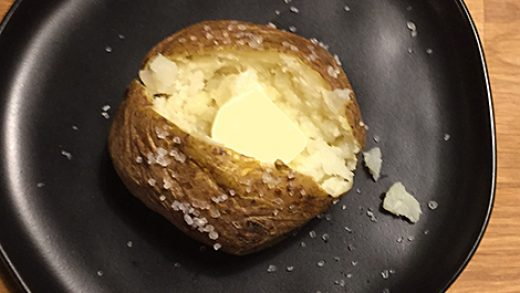 Half-baked: a microwave start speeds baked potatoes to the table – Blue  Kitchen
