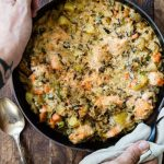 Baked Salmon and Wild Rice Casserole - Foodness Gracious