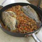 Baked Tilapia with Cajun Eggplant Stuffing – Buttoni's Low-Carb Recipes