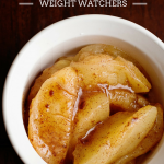 Baked Apple Microwave Recipe - 2 WW Points!