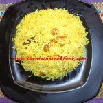 Zafrani Pulao/Saffron Rice | Tarnistha-Cook Book