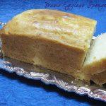 Basic Eggless Sponge Loaf Cake |