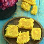 Microwave Coconut Barfi recipe, Indian Microwave Snack Recipes