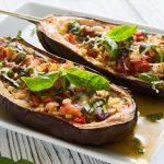 10-Minute Microwaved Eggplant