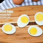 Hard Boiled Eggs   How to boil eggs in 5 minutes using Instant Pot? - Spice  Zone