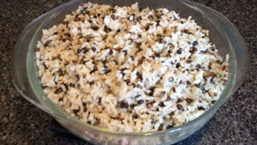 Distraction-free tip for cooking brown rice in *gasp* the microwave oven    Beezelbarb