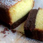 Brownie Vanilla Plumcake! - Eventually Busy