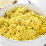 Buttermilk Ranch Scrambled Eggs - I Am Homesteader