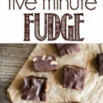 Five Minute Microwave Fudge is a quick and sinfully delicious homemade  fudge recipe. This easy fudge will b…   Fudge recipes, Homemade fudge, Homemade  fudge recipes