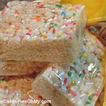 Cake Mix Rice Krispie Treats – Cookies Cakes Pies Oh My