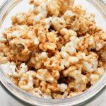 Easy Microwave Caramel Popcorn - Happy Happy Nester