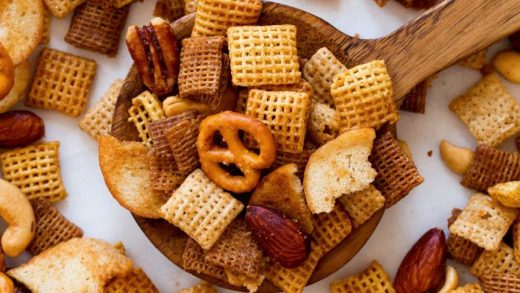 Chex Mix (Oven, Microwave, Slow Cooker) - Cooking Classy