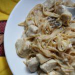 Quick Chicken (or Turkey) Tetrazzini – KintheKitchen