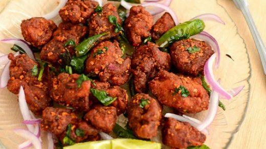 Spicy Treats: Hyderabadi Chicken 65 Recipe | Andhra Style Chicken 65 |  Spicy Chicken Appetizer Recipe