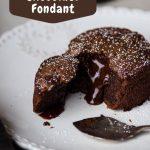 French Molten Chocolate Fondant - My Parisian Kitchen