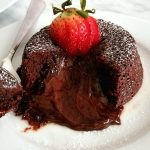 Chocolate Lava Cake for Two - Eats Delightful