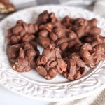 Slow Cooker Chocolate Covered Peanuts - Pretty Handy Girl