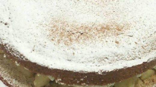 Easiest Way to Cook Tasty Cinnamon and Apple Sponge Cake - CookCodex