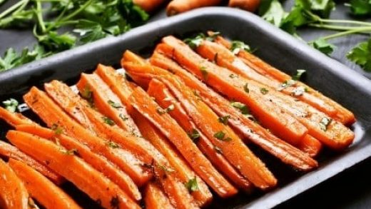 how to cook carrots in the microwave (Glazed Carrots Recipe)