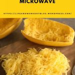 Cooking a Spaghetti Squash in the Microwave – Bert's Blog