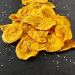 Sweet Potato Chips in 3 ½ minutes!!