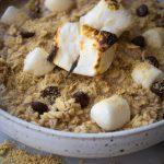 Creamy S'mores Oatmeal | Breakfast | Cashews & Quinoa