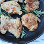 Crispy Baked Chicken Thighs - Made It. Ate It. Loved It.