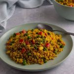 Curried Couscous Recipe · eat well abi