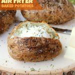 Easy Air Fryer Baked Potatoes – Tender, delicious baked potatoes with a  crispy... - #ai…   Air fryer recipes easy, Air fryer baked potato, Air  fryer recipes healthy