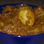 egg curry | Curryworld