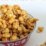 Easy Microwave Classic Caramel Popcorn | The Happier Homemaker