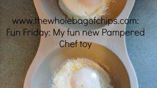 Fun Friday: My fun new Pampered Chef toy: The microwave egg cooker | The  Whole bag of Chips