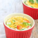 Microwave Egg White Omelettes - Kirbie's Cravings
