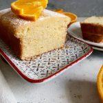 Egg-free Orange Pound Cake | Eggless Orange Cake Recipe - Polka Puffs