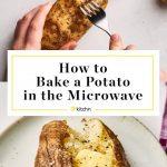 Microwave Baked Potato Recipe   Kitchn