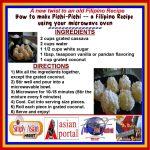 Microwave version of How to make Pichi Pichi - a Filipino Recipe --- Microwave  pichi-pichi? That is …   Filipino recipes, Easy microwave recipes, Microwave  recipes