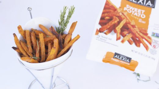 Herb + Sea Salt Sweet Potato Fries | Thoughtfully Simple