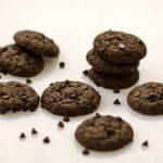Fudge Cookies / Eggless Chocolate Fudge Cookies - Annapurnaz