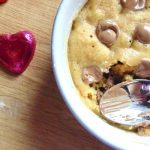 Microwave Chocolate Chip Cookie for One! - Maverick Baking