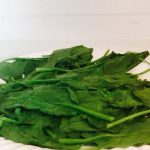Spinach in a microwave | MissYabilina