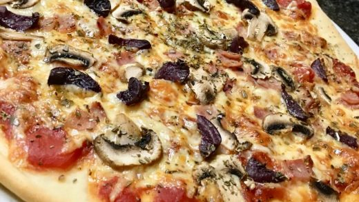 Quick and Easy Homemade Pizza Dough Recipe | NOMADZEST