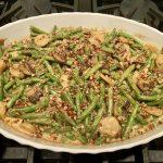 Low Carb Fresh Green Bean Casserole | MyKetoHome