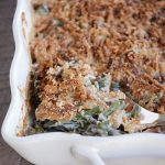 Homemade Green Bean Casserole with Extra Crunchy Topping | Mel's Kitchen  Cafe