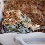 Homemade Green Bean Casserole with Extra Crunchy Topping   Mel's Kitchen  Cafe