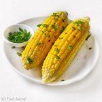Garlic & Chilli Grilled Corn Cobs – KJ'S FOOD JOURNAL
