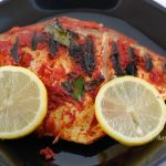 Grilled Pomfret - Aayis Recipes